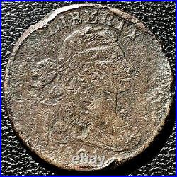 1804 Large Cent Draped Bust One Cent Nice VF Detail VERY RARE KEY DATE 1c #15426