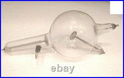 Antique & Very Rare 19th Large X Ray Crookes Tube