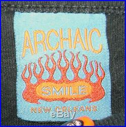 Archaic Smile 666/BEELZEBUB long sleeve, 90'S, large, Made in USA, VERY RARE