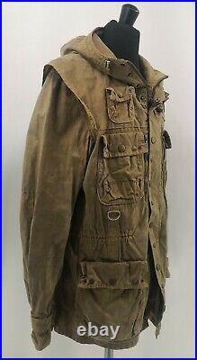 Barbour Limited Edition Military Dept. B Shordace Wax Jacket Very Rare No Tokito