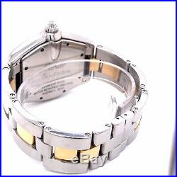 Cartier Roadster Large 37mm Steel And Gold Very Rare