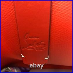Christian Louboutin Tote Bag LOVE White Color with pouch from JP Very Rare Auth