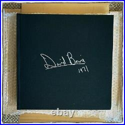 David Bowie 1971 Shooting Up Pie In The Sky Very Rare Large Hardback Book