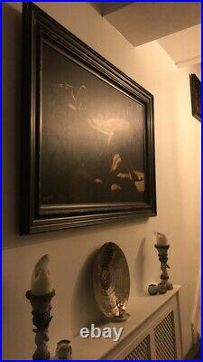 Fabian Perez very rare, very large, limited addition signed, original frame, Pa