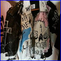 LIL Peep Authentic Never Say Die Jacket (1/1) (very Rare) Gothboiclique Gbc