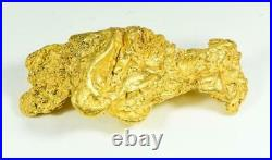 Large Natural Gold Nugget Australian 313.15 Grams 10.07 Troy Ounces Very Rare