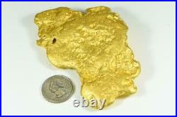 Large Natural Gold Nugget Australian 630.65 Grams 20.278 Troy Ounces Very Rare