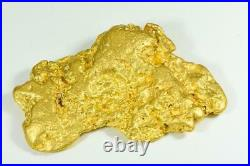 Large Natural Gold Nugget Australian 630.65 Grams 20.278 Troy Ounces Very Rare M