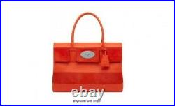Mulberry Bayswater Tote, Large, Orange, Rarely used/Very good condition