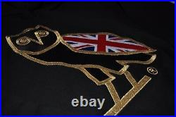 RARE OVO London UK Flag Hoodie Size Large\L Owl OG Drake Octobers Very Own