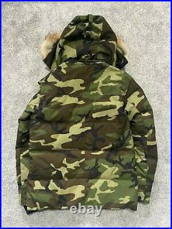 RRP £925 Canada Goose Mens Wyndham Camo Size Large Very Rare
