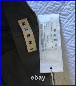 Rare MARNI very wide leg olive NEW WITH TAGS! Size 50 Over $400