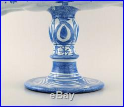 Rare and very large Wiinblad Candlestick in the form of a rider, 1973