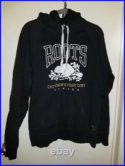 Roots OVO Octobers Very Own Black hoodie RARE Drake