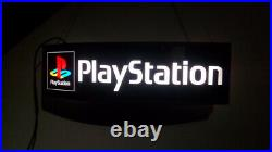 Sony PlayStation Official Shop Sign 1994 Lights Up Very Rare Item New Large 1m