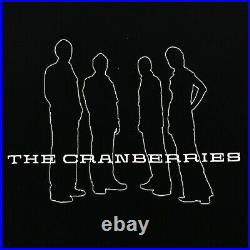 THE CRANBERRIES Vintage T-Shirt Rock Band Tees 90s Very Rare Tour VTG