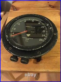 Tachometer. Analogue. RPM Counter. Twin Needle. Vintage. Very Large. Very Rare