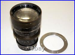 VERY RARE FAST USSR LENS F-3 4.5/400 cm COVERS LARGE FORMAT 13x18 cm 5x7