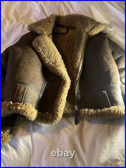 VERY RARE vintage real US Air Force Flying Jacket (very Good condition) B3
