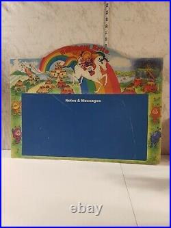 VINTAGE RARE 1983 RAINBOW BRITE NOTES & MESSAGE CHALK BOARD Very Large