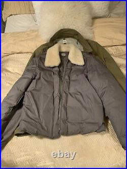 Very Rare CP Company / Stone Island Shearling Jacket 50/M/L Bought in Milan