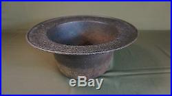 Very Rare Large Korean Joseon Dynasty Solid Iron Fire Vessel 13