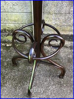 Very Rare Large Thonet Bentwood Hat Coat Stand