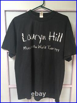 Very Rare Original The Miseducation of Lauryn Hill 1999 World Tour T-shirt