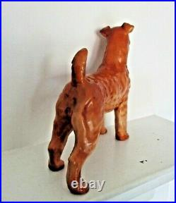 Very Rare Royal Doulton Airedale Terrier Hn 988 Large Size Excellent