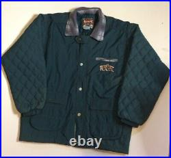 Vintage 90's Rip Curl Bomber Puffer Surf Jacket RipCurl Very RARE