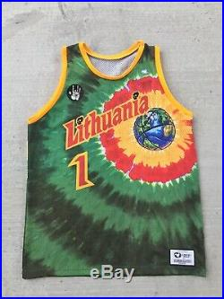 Vintage GratefulDead Lithuania Jersey Very Rare Jerry Garcia Size Large
