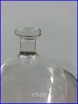 Vintage Pyrex Large 17High Glass Cloche Dome Bell Jar Apothecary VERY RARE