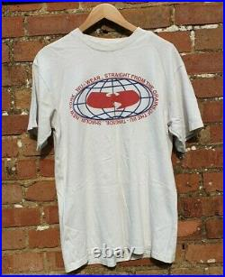 Wu-Tang Clan Vintage Official T-shirt From 90s VERY RARE TEE