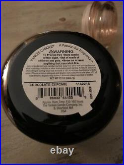 Yankee Candle Chocolate Cupcake White Bottom Label Only 1 on eBay Very Rare
